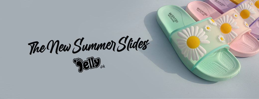 Women's Jelly Flower Summers Slides   Flats   Women's Shoes